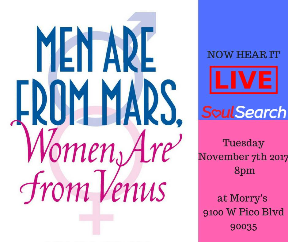 Men Are From Mars, Women Are From Venus Flyer - AishLIT Website