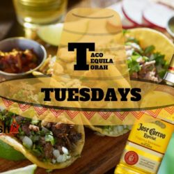 Taco, Tequila, & Torah Tuesdays Flyer - AishLIT Website