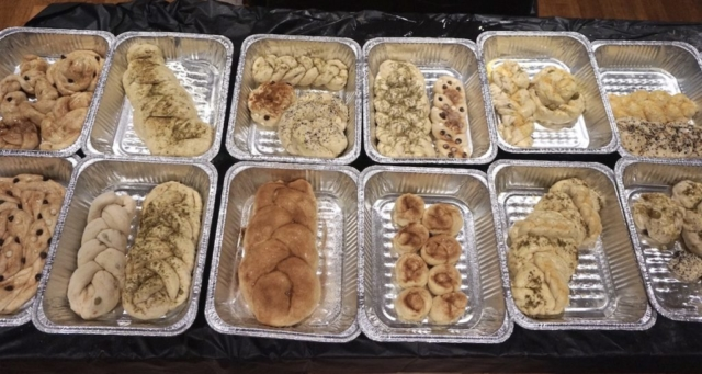 AishLIT Monthly Challah Bake, Novemebr, 2017 - 9