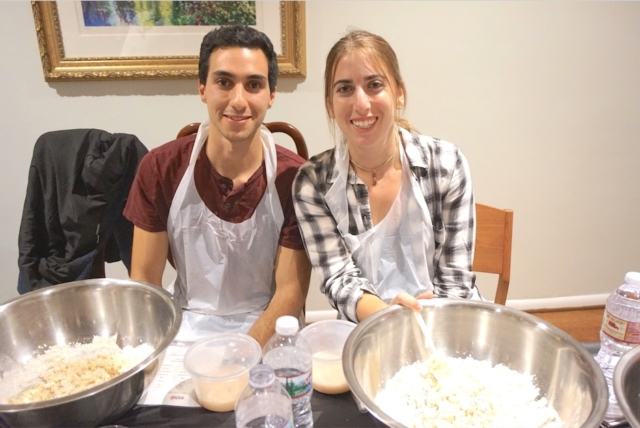 AishLIT Monthly Challah Bake, october, 2017 - 14