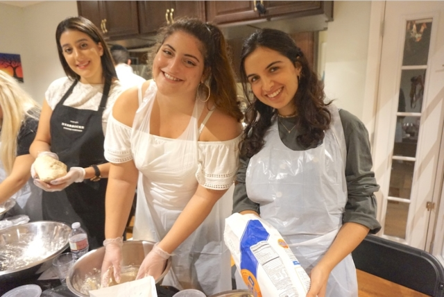 AishLIT Monthly Challah Bake, october, 2017 - 15