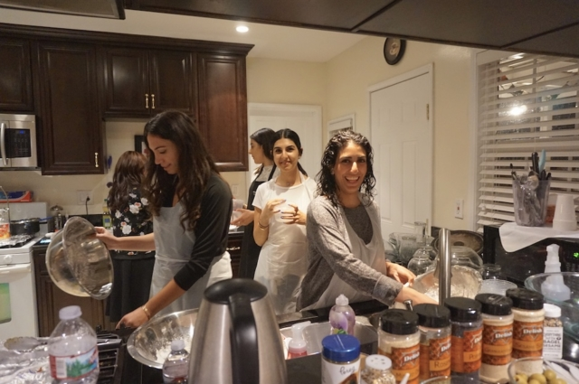 AishLIT Monthly Challah Bake, october, 2017 - 18