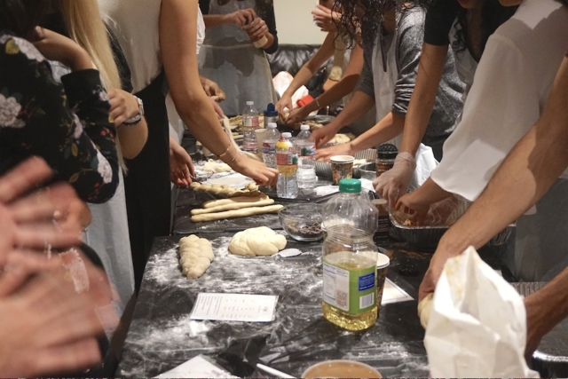 AishLIT Monthly Challah Bake, october, 2017 - 20