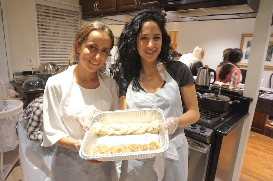 AishLIT Monthly Challah Bake, october, 2017 - 21