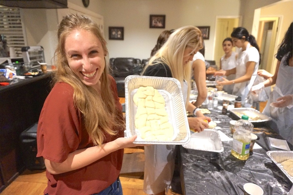 AishLIT Monthly Challah Bake, october, 2017 - 22