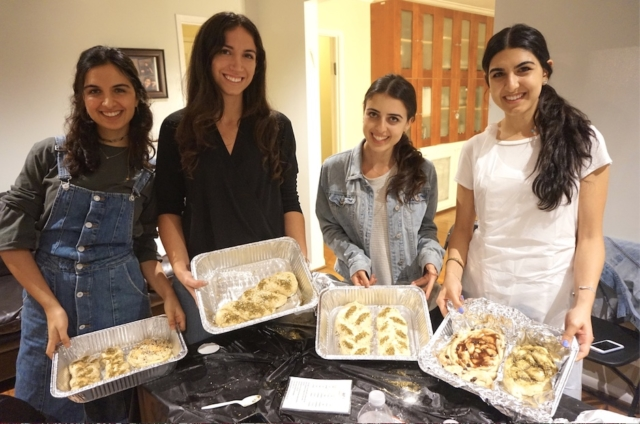 AishLIT Monthly Challah Bake, october, 2017 - 24