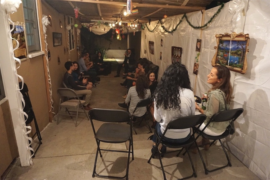 Booze and Shmooze in The Sukkah 17 - AishLIT Website