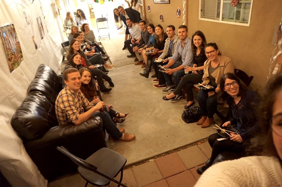 Booze and Shmooze in The Sukkah 22 - AishLIT Website