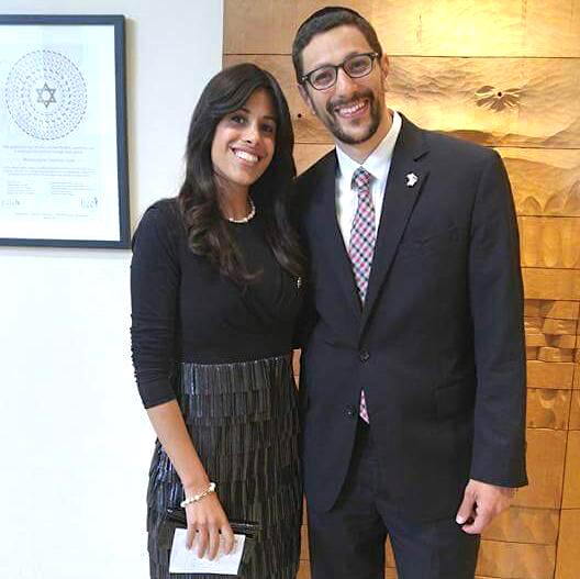 Rabbi Jack and Shira - AishLIT Website