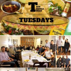 Taco, Tequila, and Torah Tuesdays Cover Photo - 01:16:2018