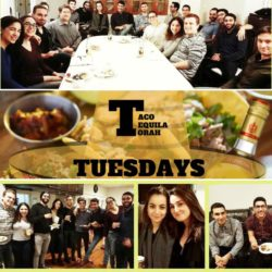 Taco, Tequila, and Torah Tuesdays 03:13:2018 Cover Photo - AishLIT Website