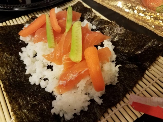Sushi Social, Roll Your Own Sushi - AishLIT Website 11