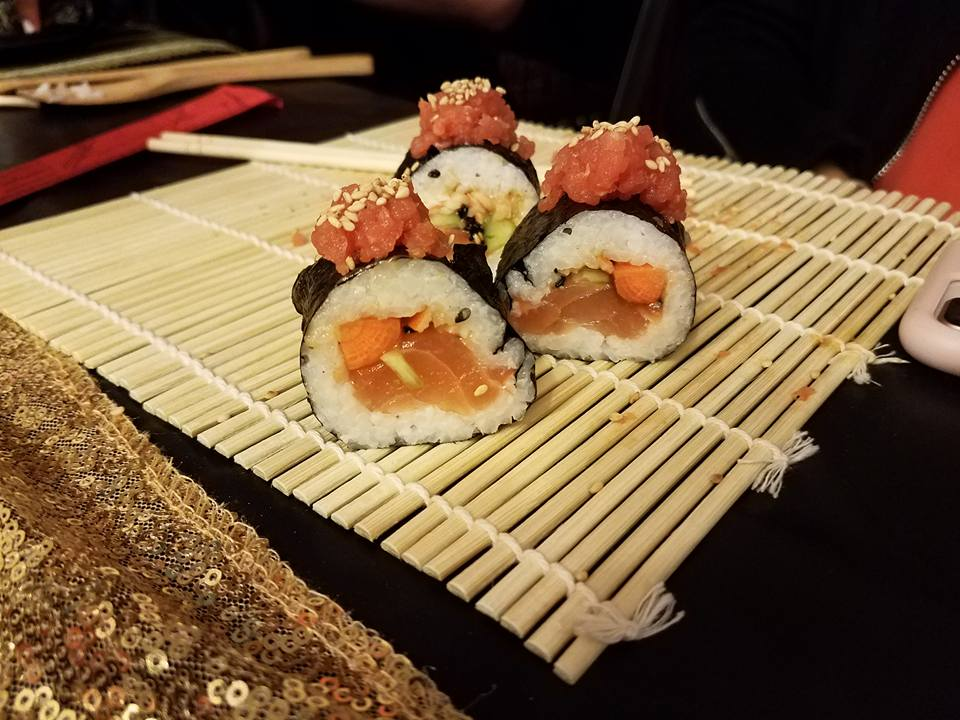 Sushi Social, Roll Your Own Sushi - AishLIT Website 12