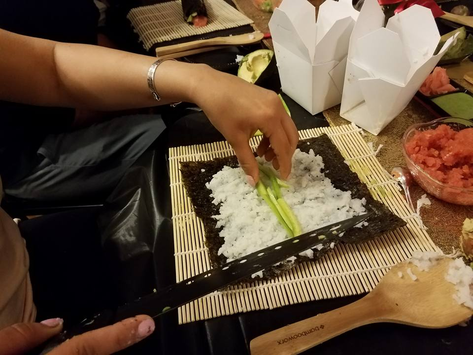Sushi Social, Roll Your Own Sushi - AishLIT Website 7