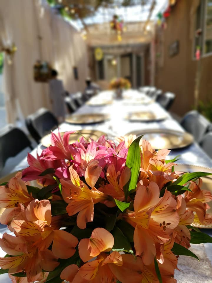 Sukkot at The Malul's, Sukkah and Table - AishLIT Website 4