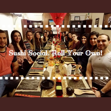 Sushi Social. Roll Your Own Gallery Cover - AishLIT Website