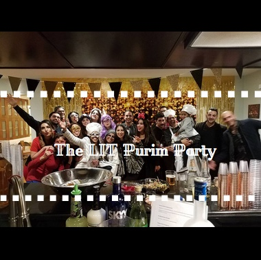 The LIT Purim Party Gallery Cover - AishLIT Website