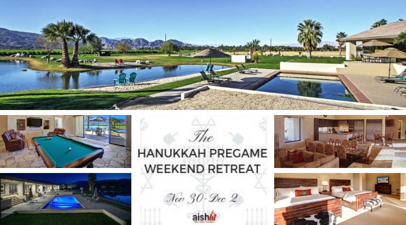 The YP Hanukkah Pregame Retreat - Coachella - AishLIT Website
