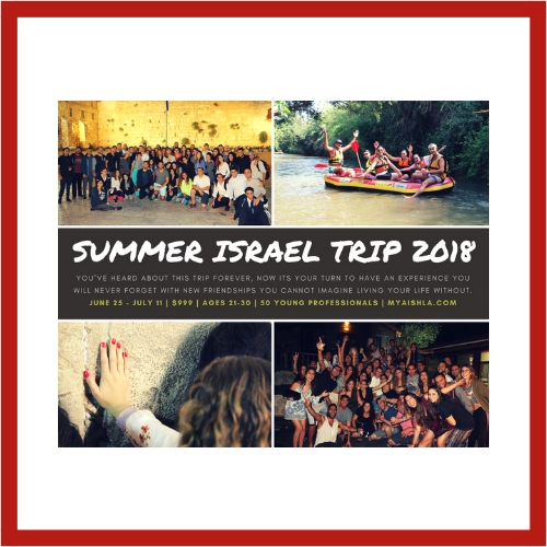 2018 Israel Trip - AishLIT Website