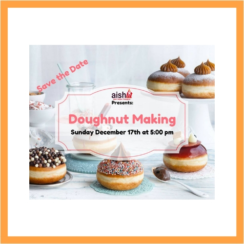 Doughnut Making - AishLIT Website
