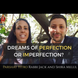 Dreams of Perfection or Imperfection - Parshat Yitro - AishLIT Website