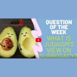 Question Of The Week EP3 | What Is The Jewish View On Surrogacy? - AishLIT