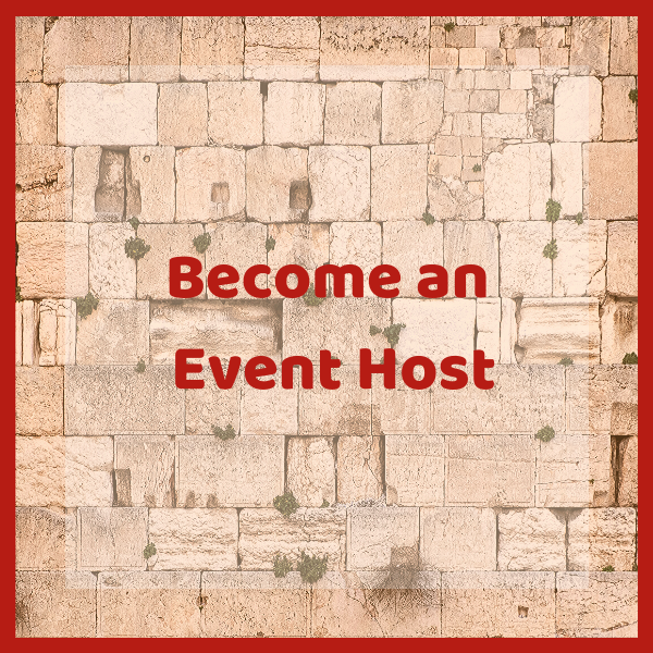 Become An Event Host - AishLIT Website