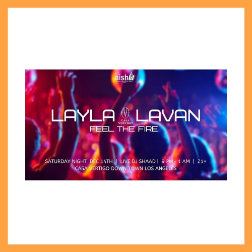 Layla Lavan Event - AishLIT Website