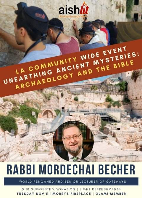 Rabbi Mordechai Becher - Taco Tuesday, AishLIT Website