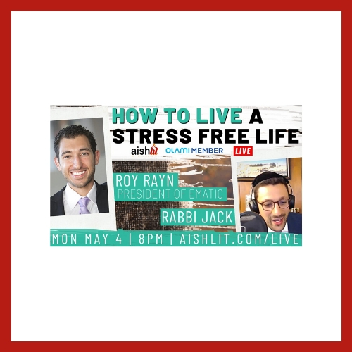 How To Live A Stress Free Life - AishLIT Website
