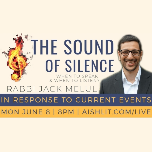 The Sound of Silence - AishLIT Website