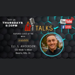 LITtlaks with Guest Speaker Eli Andersen - AishLIT Website