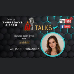 LITtalks with Alison Hernandez - AishLIT Website