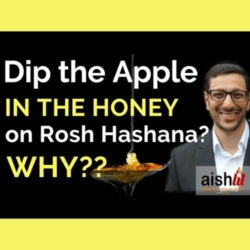 6 - Dip the Apple in the Honey on Rosh Hashana? Why? - AishLIT Website