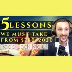 8 - 5 Lessons We Must Take from 5780 - AishLIT Website