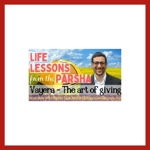 Lessons from The Parsha - AishLIT Website