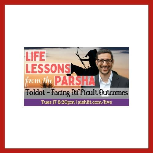 Lessons from the Parsha with Rabbi Jack Melul - Parshat Toldot