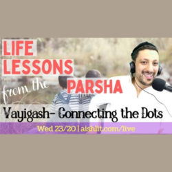 Life Lessons from the Parsha, Vayigash with Rabbi Jack Melul - AishLIT Website